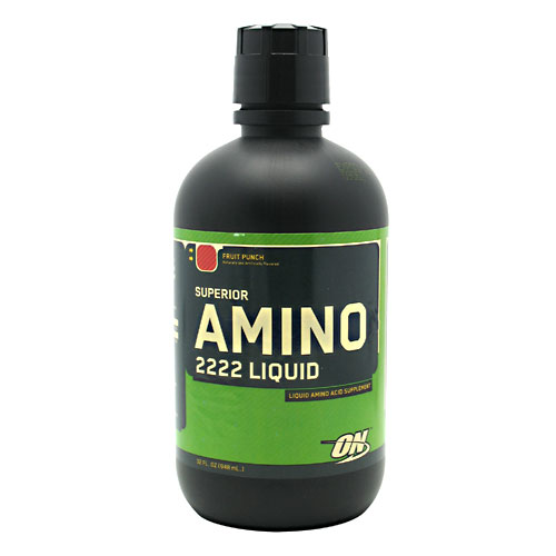 4.3 lbs Amino 2222 Liquids, Amino Acid Energy, Punch, 32 oz. From Optimum at Sears.com
