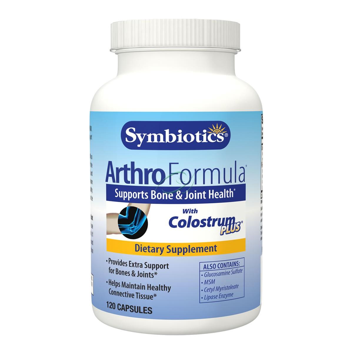 SYMBIOTICS Artho Formula with Colostrum Plus, 120 Caps, 480 mg, From Symbiotics at Sears.com