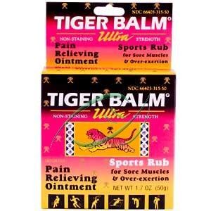 Tiger Balm Pain Relieving Ointment, Ultra Strength, 1.7 oz (50 g), From Tiger Balm at Sears.com